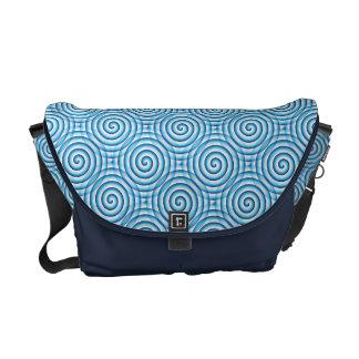 Blue Circles Commuter Bags