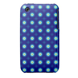 Blue Circles iPhone 3G/3GS case Case-Mate iPhone 3 Cases