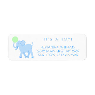 Blue Circus | Baby Boy Adorable Personalize It
