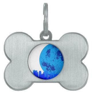 Blue City Pet ID Tag