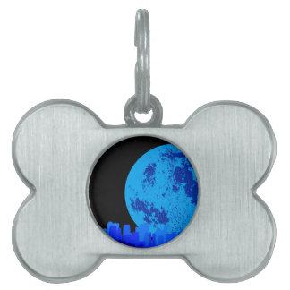 Blue City Pet ID Tags
