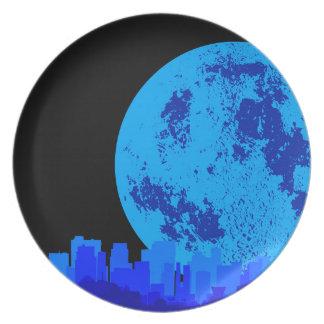 Blue CIty Plate