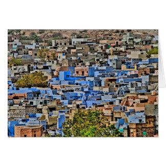 Blue City, Rajasthan Card
