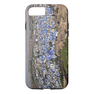 Blue City viewed from Mehrangarh Fort / Jodhpur, iPhone 8/7 Case