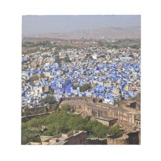 Blue City viewed from Mehrangarh Fort / Jodhpur, Notepad