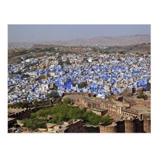 Blue City viewed from Mehrangarh Fort / Jodhpur, Postcard