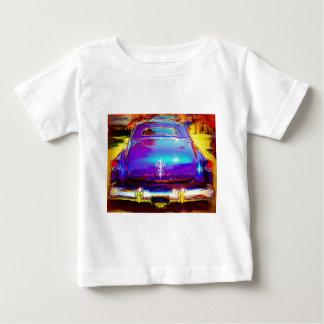 Blue Classic American Car Baby T-Shirt