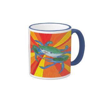 Blue Clawed Crab Ringer Mug