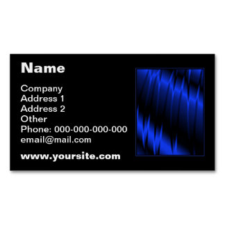 Blue Claws Magnetic Business Cards