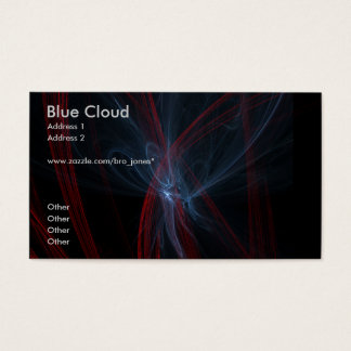 Blue Cloud Business Card