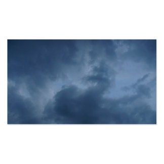 blue clouds pack of standard business cards