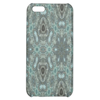 Blue colored strange pattern iPhone 5C cover