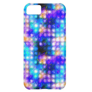Blue Colorful Whimsical Abstract iPhone 5C Case