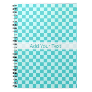 Blue Combination Classic Checkerboard by STaylor Note Books