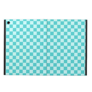 Blue Combination Classic Checkerboard iPad Air Cases
