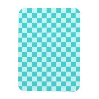 Blue Combination Classic Checkerboard Magnet