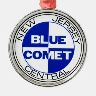 Blue Comet Drumhead Ornament