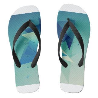 Blue Comfort Flip Flops