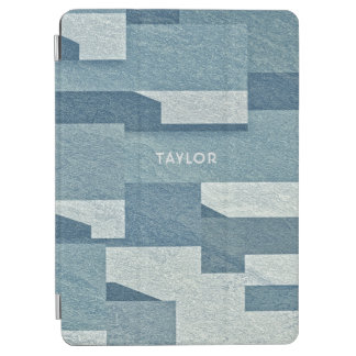 """""""Blue Concrete"""" custom name device covers iPad Air Cover"""