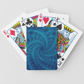 Blue Contrail Spiral Cards