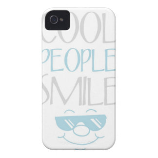 Blue Cool People Smile Statement iPhone 4s Case iPhone 4 Cases
