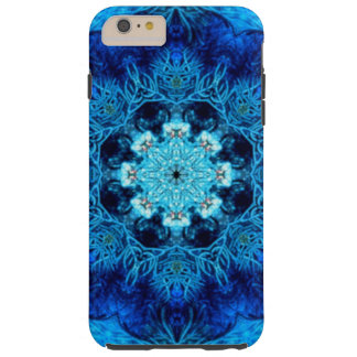 Blue Coral Abstract Tough iPhone 6 Plus Case
