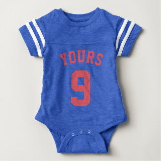 Blue & Coral Baby | Sports Jersey Design Shirts