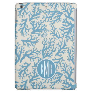 Blue Coral Pattern | Monogram