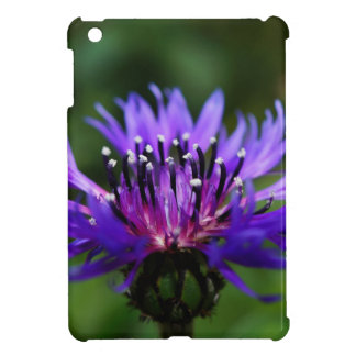 Blue Cornflower Flower Blossoms Peace Love Destiny iPad Mini Cover