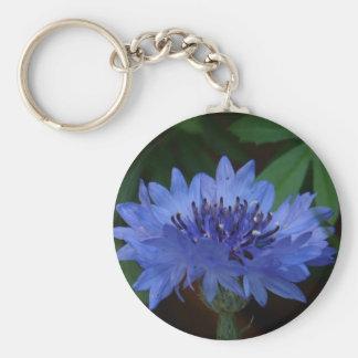 Blue Cornflower Keychains