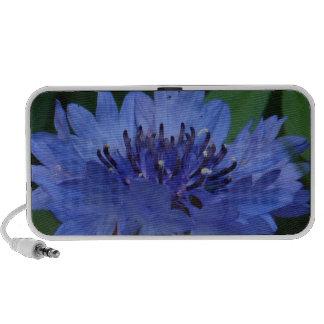 Blue Cornflower PC Speakers