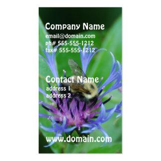 Blue Cornflowers Business Cards