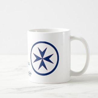 Blue Corsair Style Basic White Mug