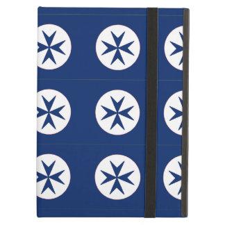 BLUE CORSAIR STYLE octagon cross iPad Air Covers