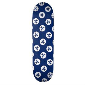 BLUE CORSAIR STYLE octagon cross Skateboards
