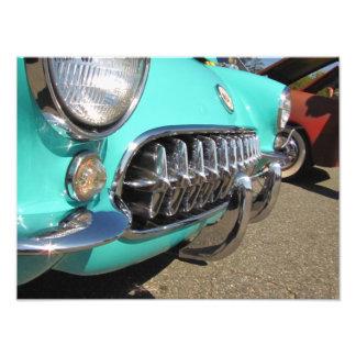 Blue Corvette ~ Photo