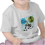 Blue Cow 1st Birthday Tshirts and Gifts