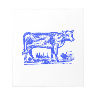 Blue Cow Notepad