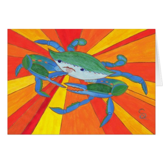 Blue Crab Card