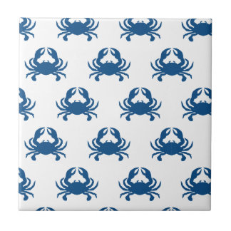 Blue Crab Ceramic Tile Coaster