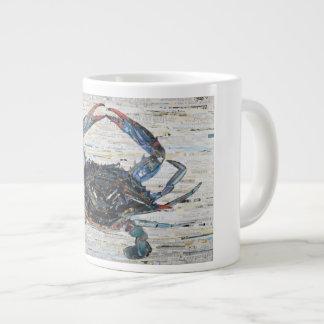 Blue Crab Collage 20oz Coffee Mug - by C.E. White