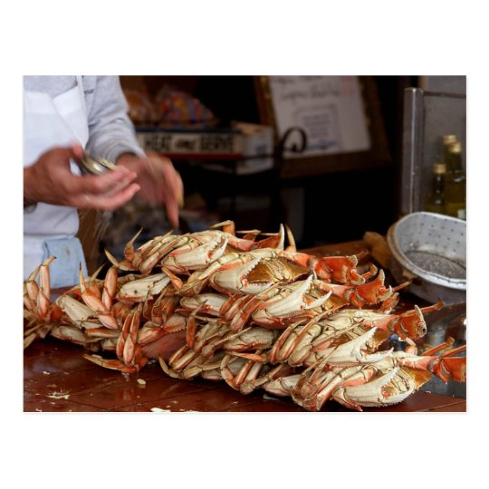 Blue Crab Feast Postcard