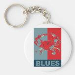 Blue Crab Iconised Key Chains