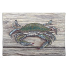 Blue Crab on Dock Placemat