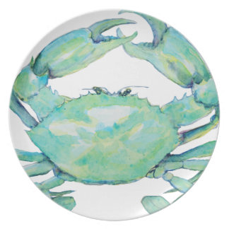 Blue Crab Plate
