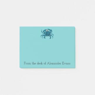 Blue Crab Post-it Notes