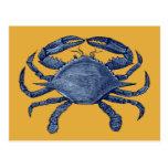 Blue crab postcards