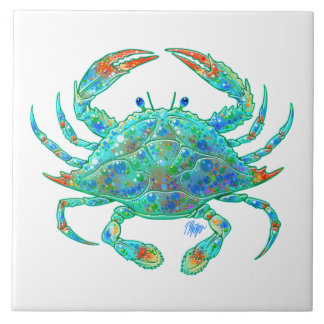 Blue Crab Tile