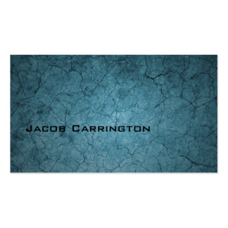 Blue Cracked Dirt Pack Of Standard Business Cards