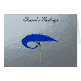 Blue Crane Card